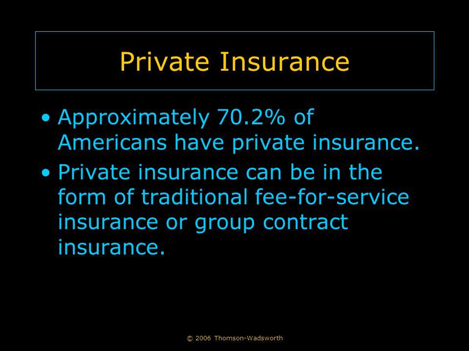 The Medicare Program Medicare is the largest health care insurer in the U.S.