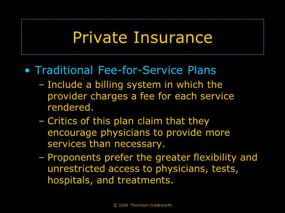 © 2006 Thomson-Wadsworth Health Care Reform in the United States Health care reform in the U.S.