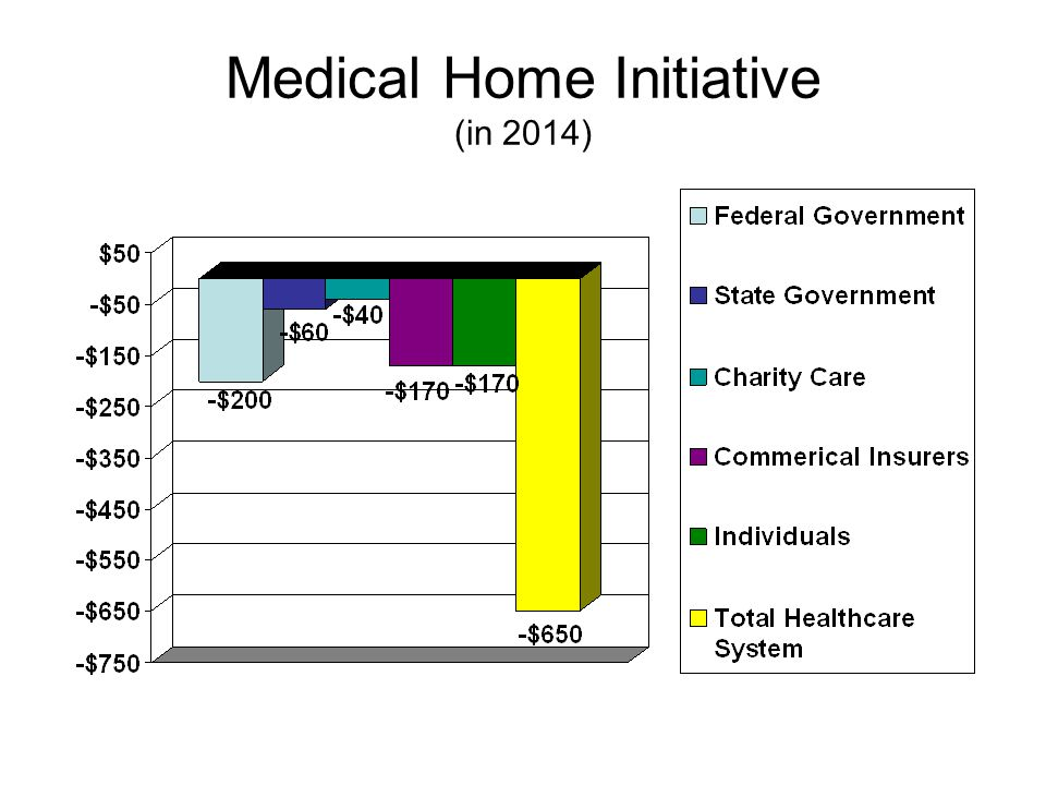 Medical Home Initiative (in 2019)