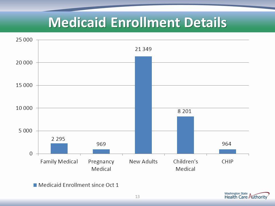 13 Medicaid Enrollment Details