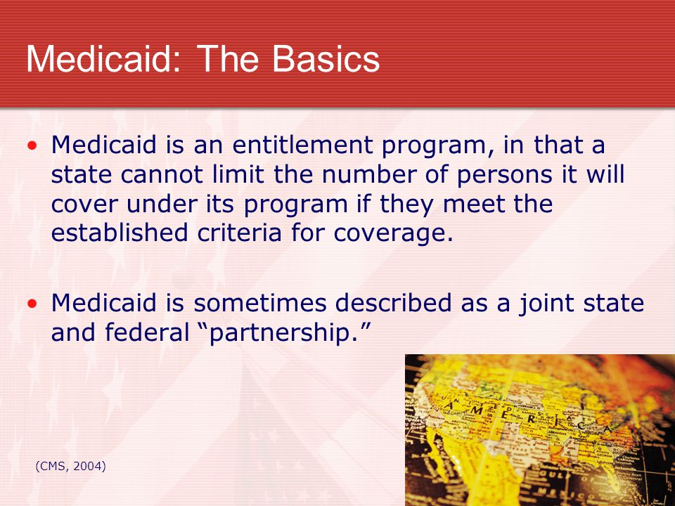 Medicaid: Learning the Lingo Medically Needy- Those individuals assigned the optional Medicaid eligibility group who qualify because of high medical expenses.