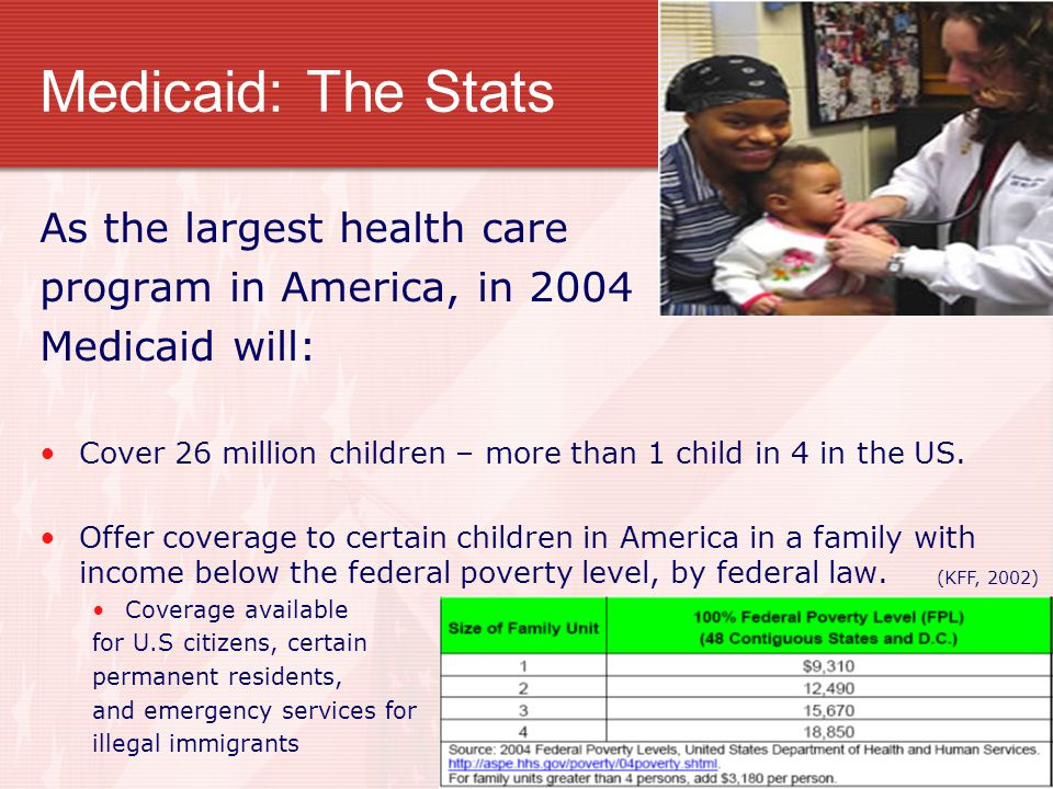 Medicaid: Managed Care There is no federally-defined Medicaid managed care benefits package.