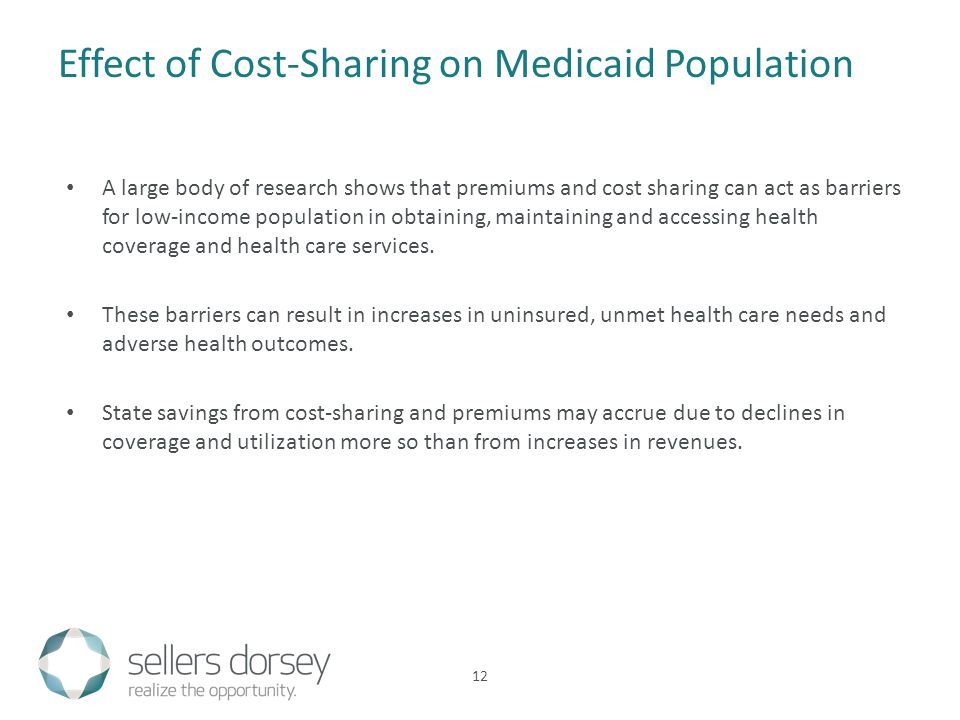 A large body of research shows that premiums and cost sharing can act as barriers for low-income population in obtaining, maintaining and accessing health coverage and health care services.