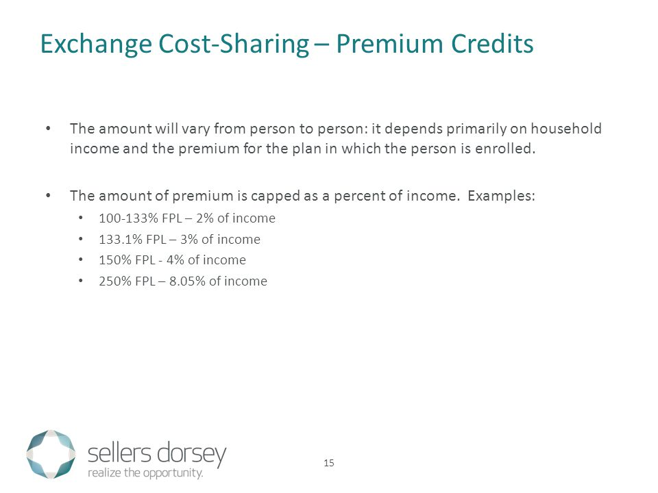 The amount will vary from person to person: it depends primarily on household income and the premium for the plan in which the person is enrolled.