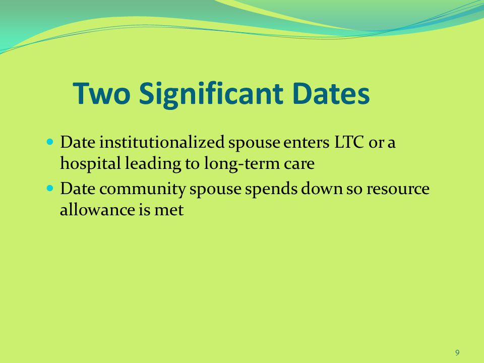Two Prongs of Spousal Protection An individual shall not be ineligible for medical assistance...