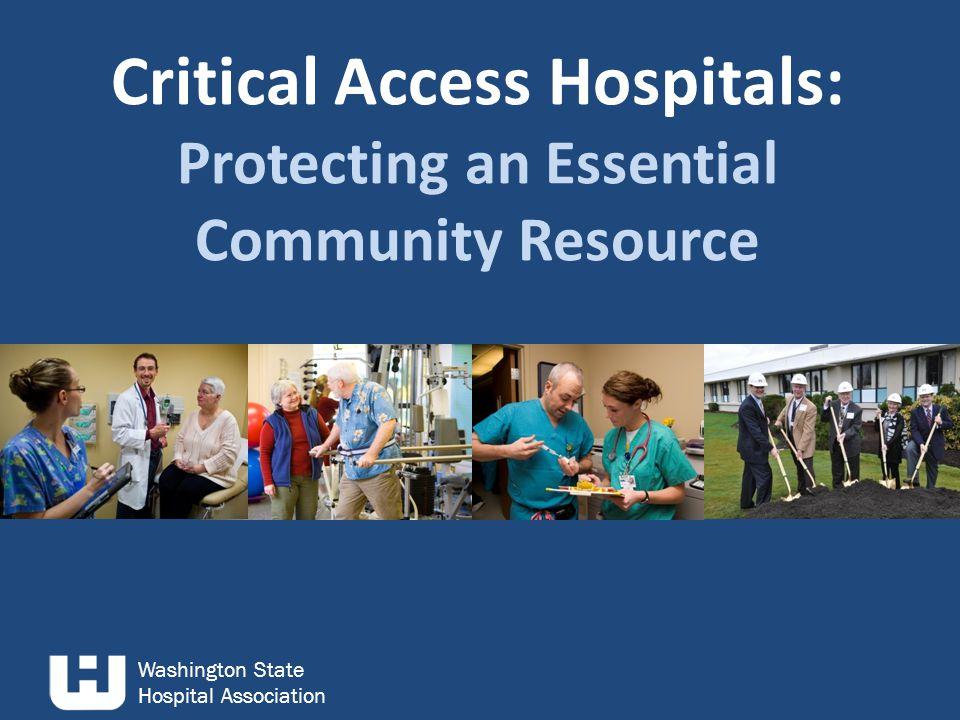 Washington State Hospital Association Individual Hospital Margins After the Cut Each bar represents an individual hospital