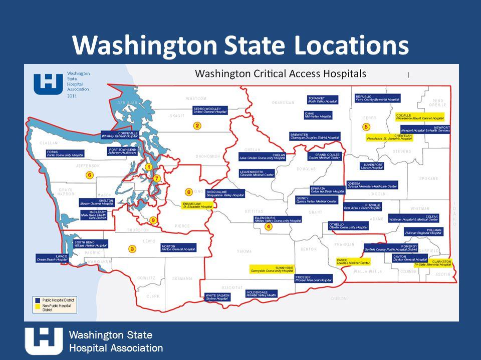 Washington State Hospital Association Washington State Locations