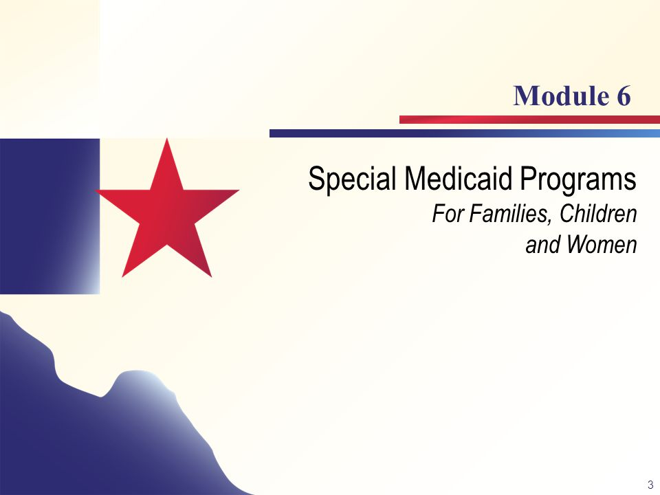 3 Special Medicaid Programs For Families, Children and Women