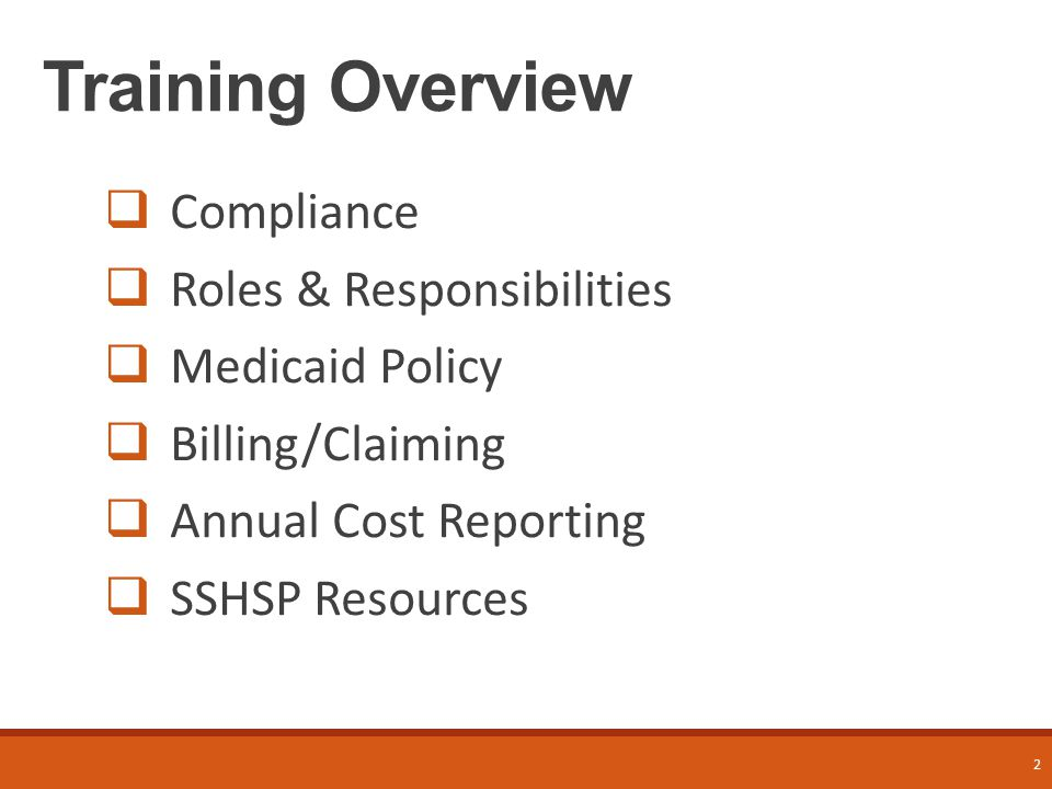 3 The Compliance Agreement and The Compliance Program
