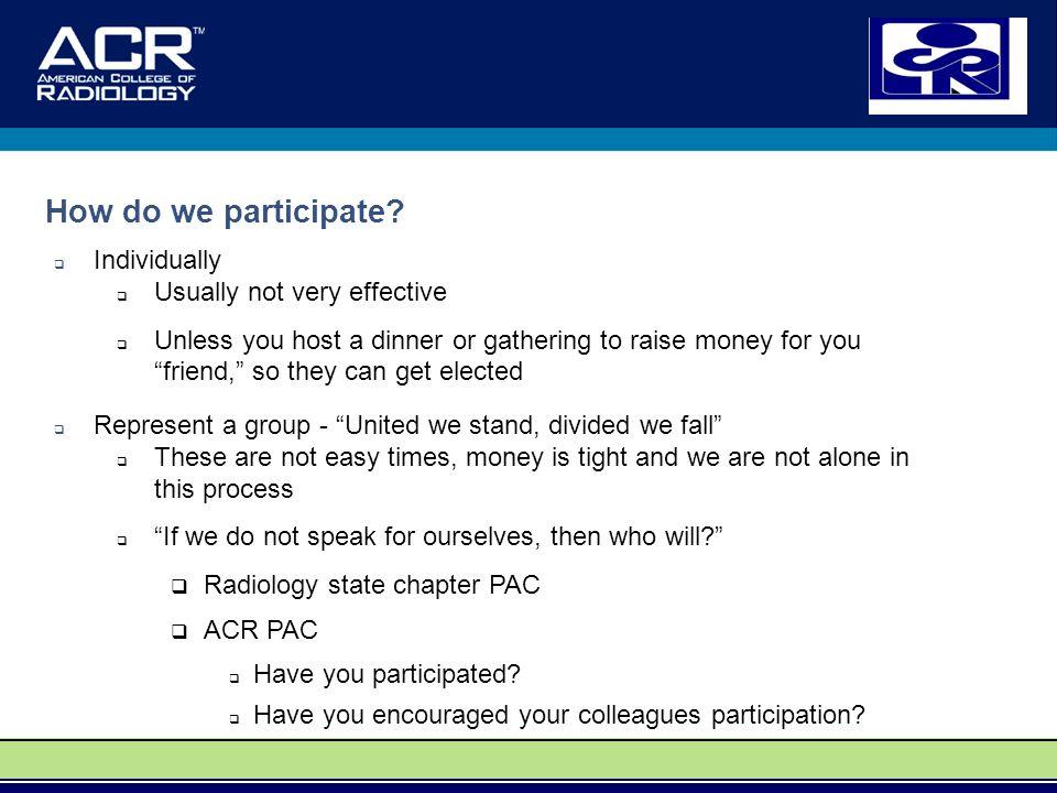 How do we participate.