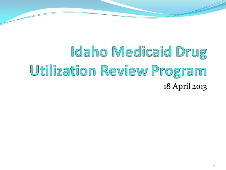 Original Review Generated profiles for the top 150 recipients by total narcotic claim count from the recipients who had at least one narcotic claim in each of the 24 months of the period ending December 2011 Time Period: May 1, 2011 through December 31, 2011 All profiles were hand reviewed by Idaho Medicaid Pharmacists 22
