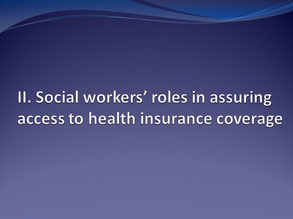 Why is Help in Enrolling in Insurance Programs Needed.