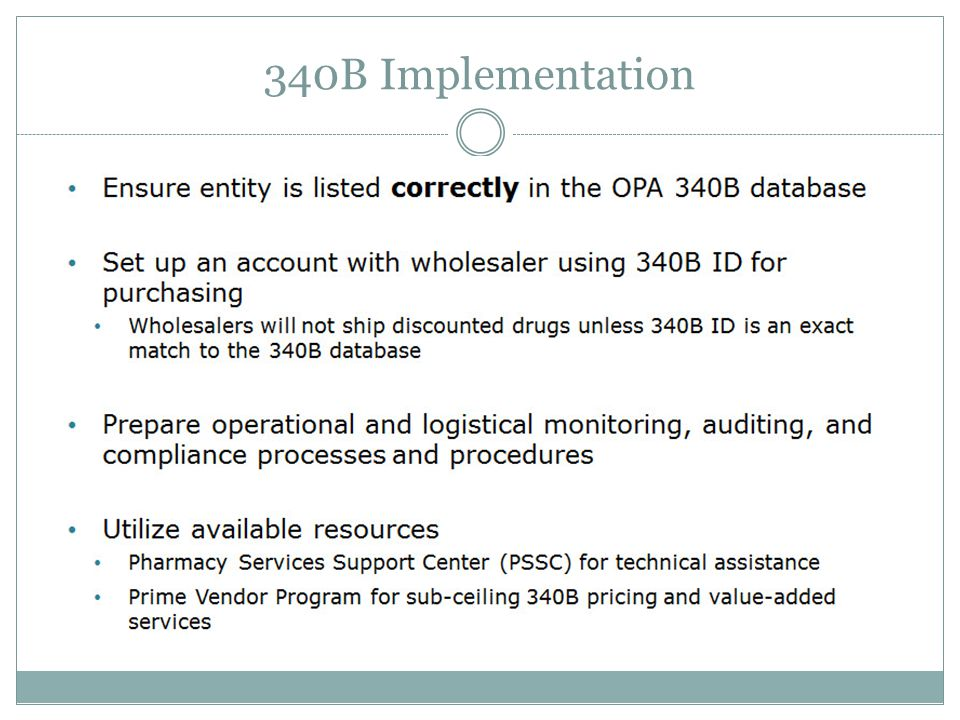 340B Implementation