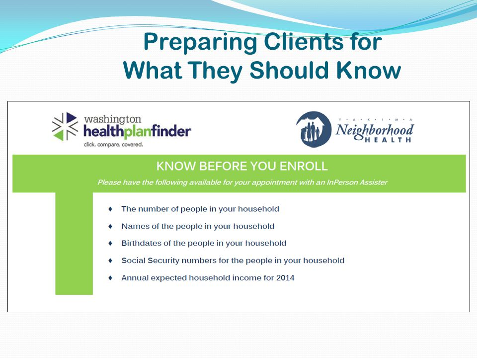 Preparing Clients for What They Should Know