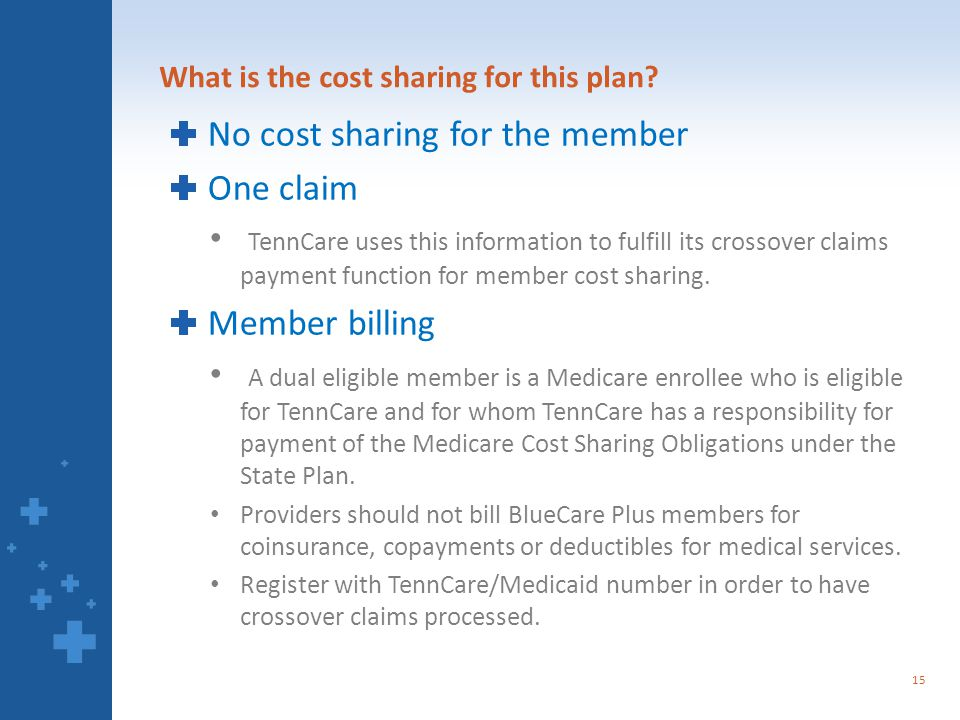 What is the cost sharing for this plan.