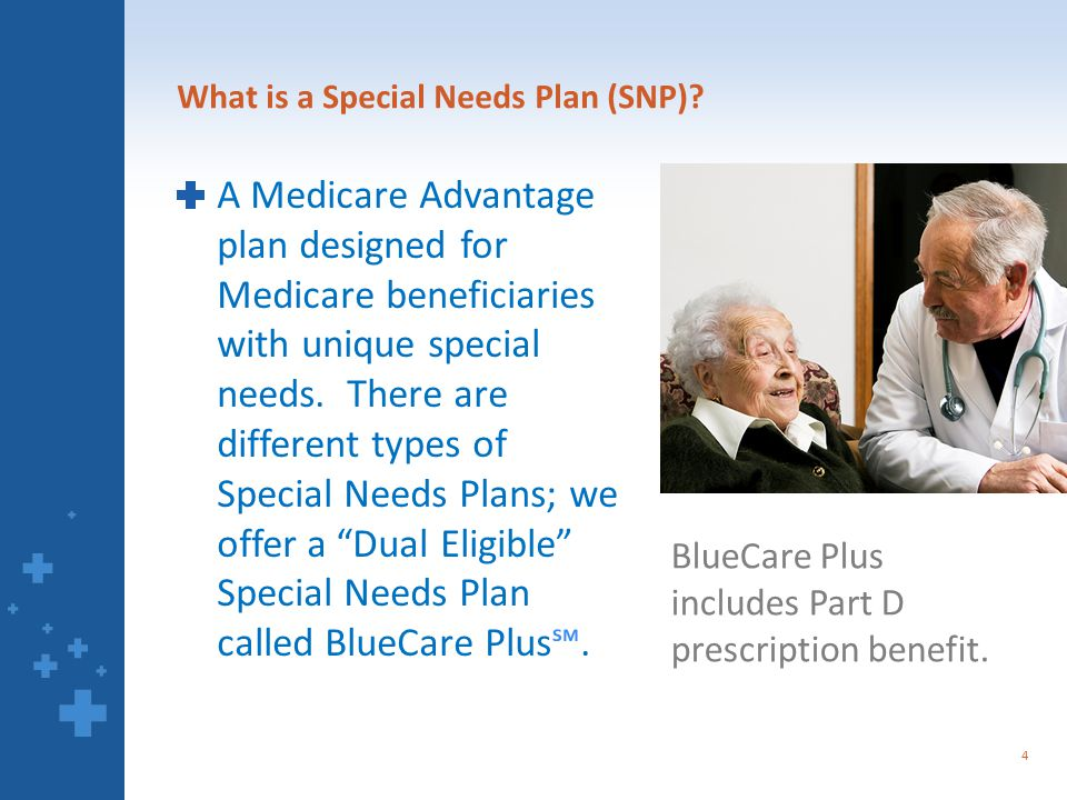 What is a Special Needs Plan (SNP).