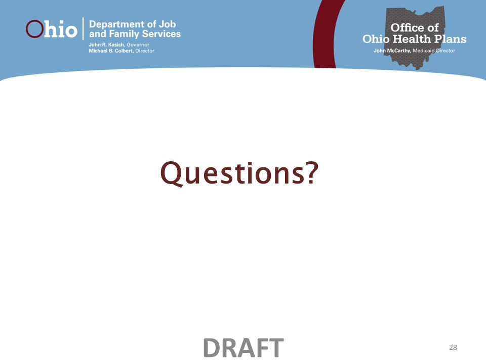 Questions 28 DRAFT