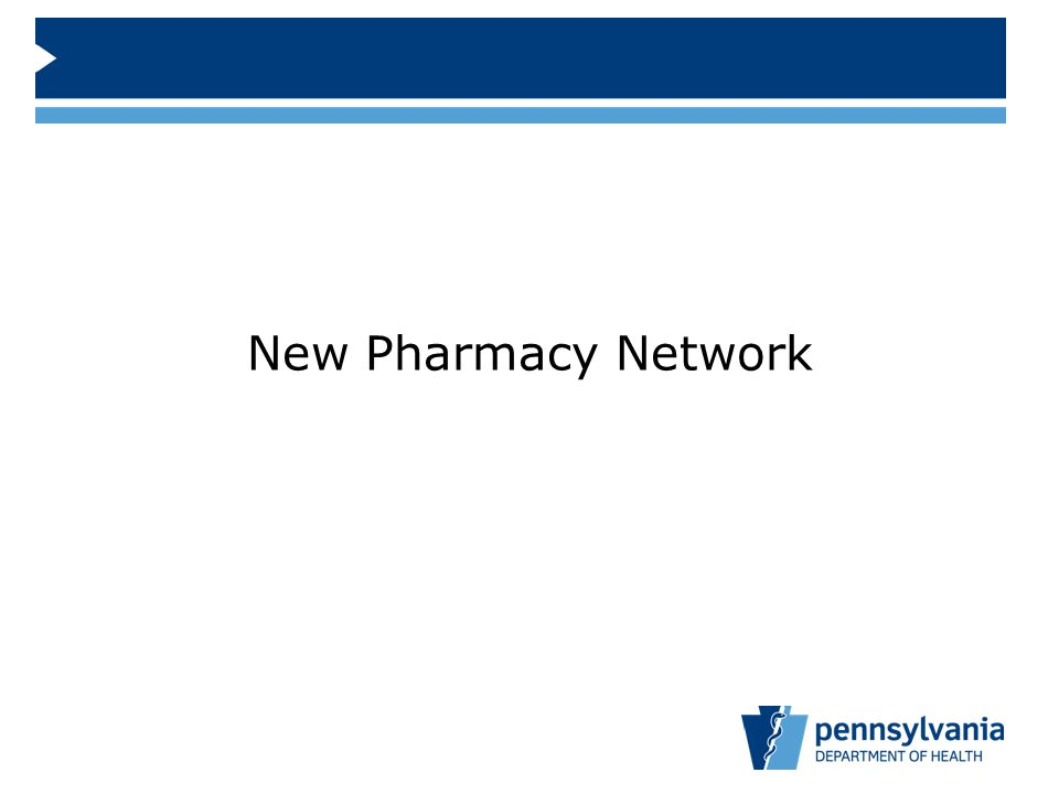 New Pharmacy Network