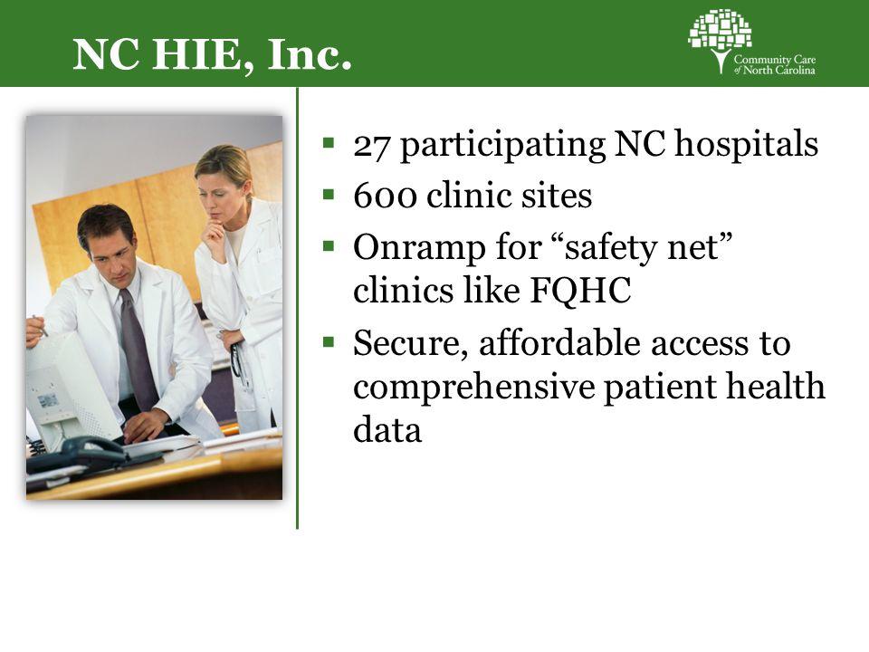 NC HIE, Inc.