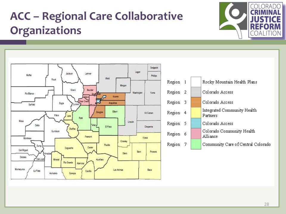 ACC – Regional Care Collaborative Organizations 28