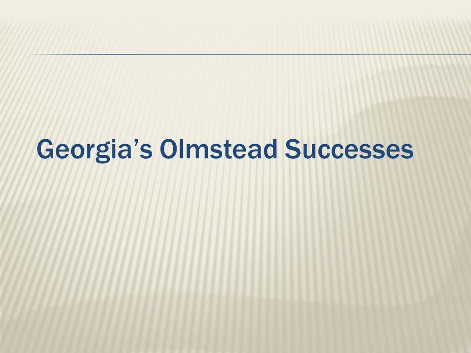 Georgia's Olmstead Successes