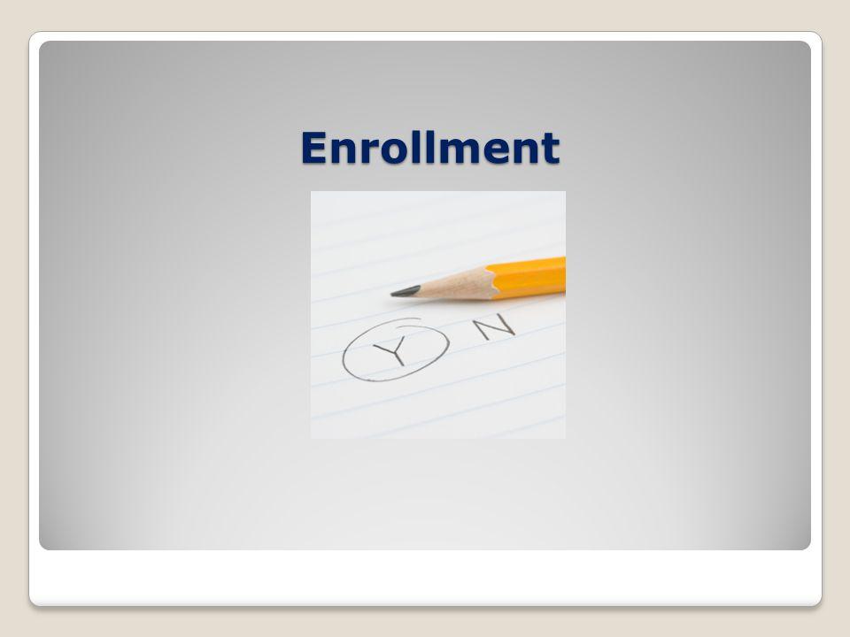 Enrollment Enrollment