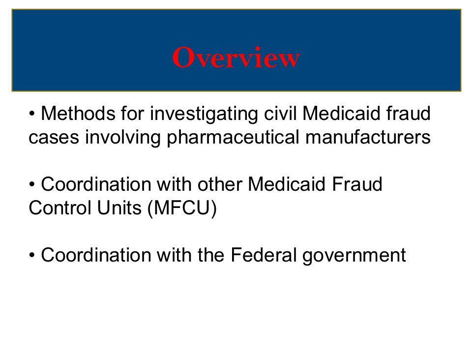 Investigation Methods Qui Tam Relators CID/Subpoena Data Analysis