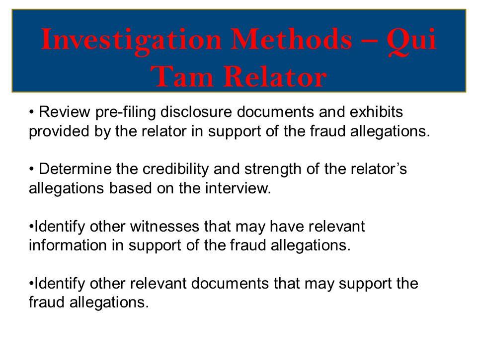 Investigation Methods – CID/Subpoena Civil Investigative Demand (CID) – Virginia Fraud Against Taxpayers Act, Va.