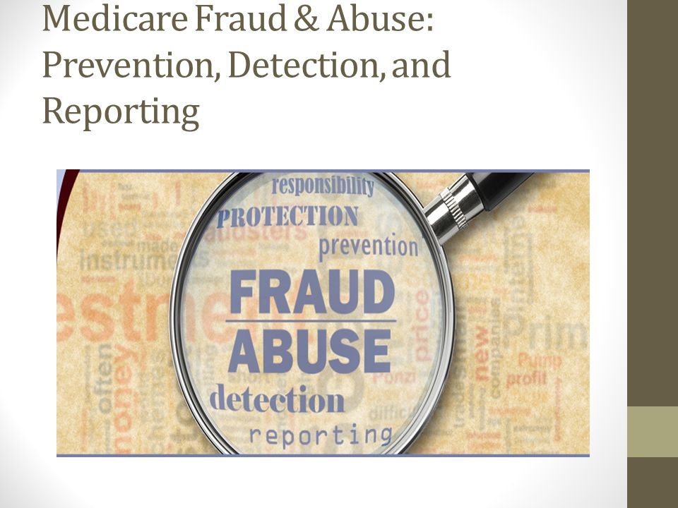 Examples of Abuse Examples of actions that may constitute Medicare abuse include: Misusing codes on a claim, Charging excessively for services or supplies, and Billing for services that were not medically necessary