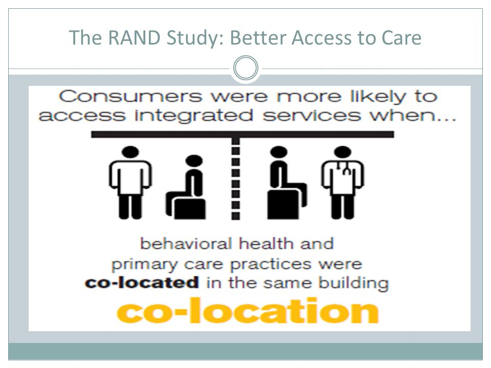 The RAND Study: Better Access to Care