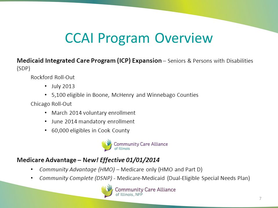 Program Exclusions Populations Excluded from ICP Children (under the age of 19) Those eligible for Medicare Part A or enrolled in Medicare Part B American Indians/Alaskan Natives (may voluntarily enroll) Enrollees currently in a spend-down status Individuals aligned with presumptive eligibility Individuals in the Breast/Cervical Cancer Program Participants with comprehensive third-party coverage 8