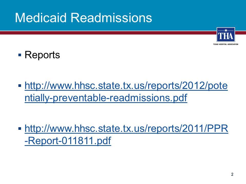 Payment Adjustment – Your Hospital  Web Portal  www.tmhp.com www.tmhp.com 3