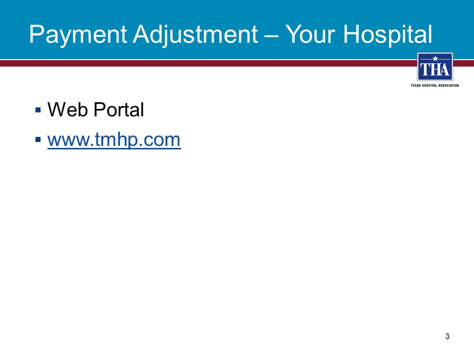 Payment Adjustment  HHSC will adjust about 70 hospitals  Hospitals should be notified July 15  Adjustment will be 1% or 2%  Rates will not be impacted  Adjustment will take place as the last step  Adjustment will impact FFS only 4