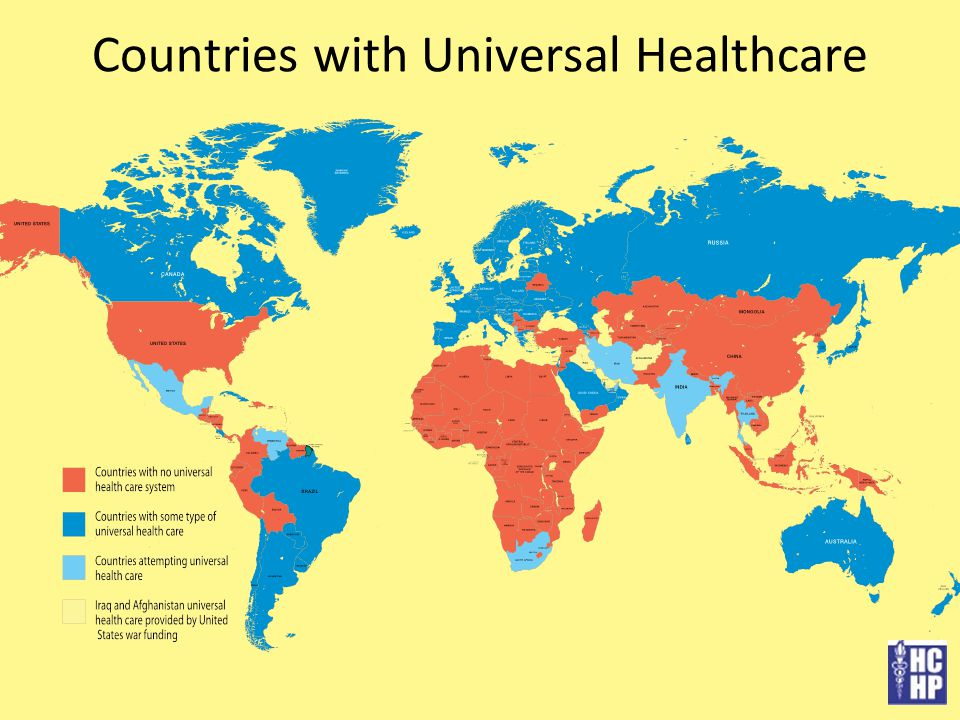 Countries with Universal Healthcare