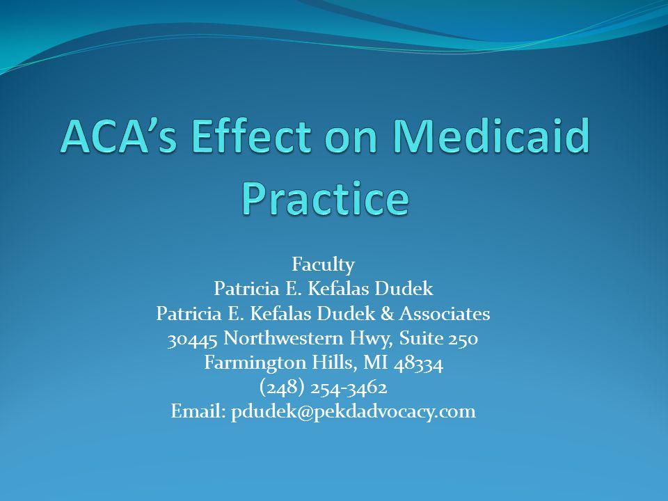 Faculty Patricia E. Kefalas Dudek Patricia E.