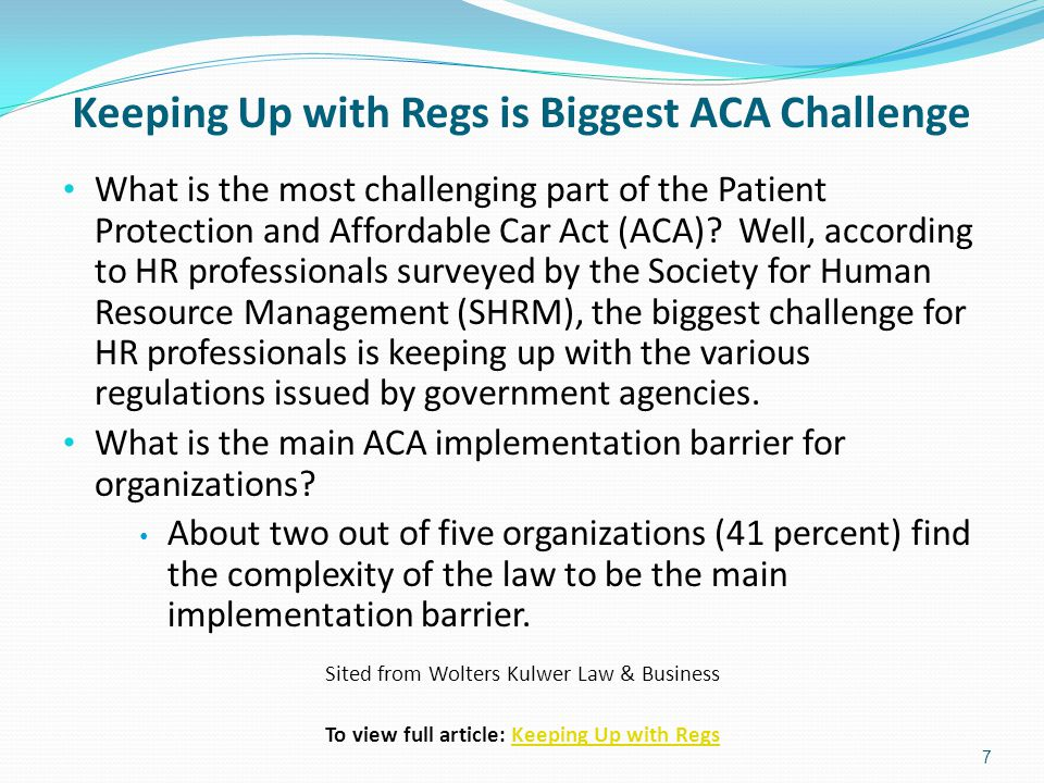 ACA's Medicaid Plans Took Heat from Court According to an article written by David Pittman, Washington Correspondent, MedPage Today on June 28, 2013.