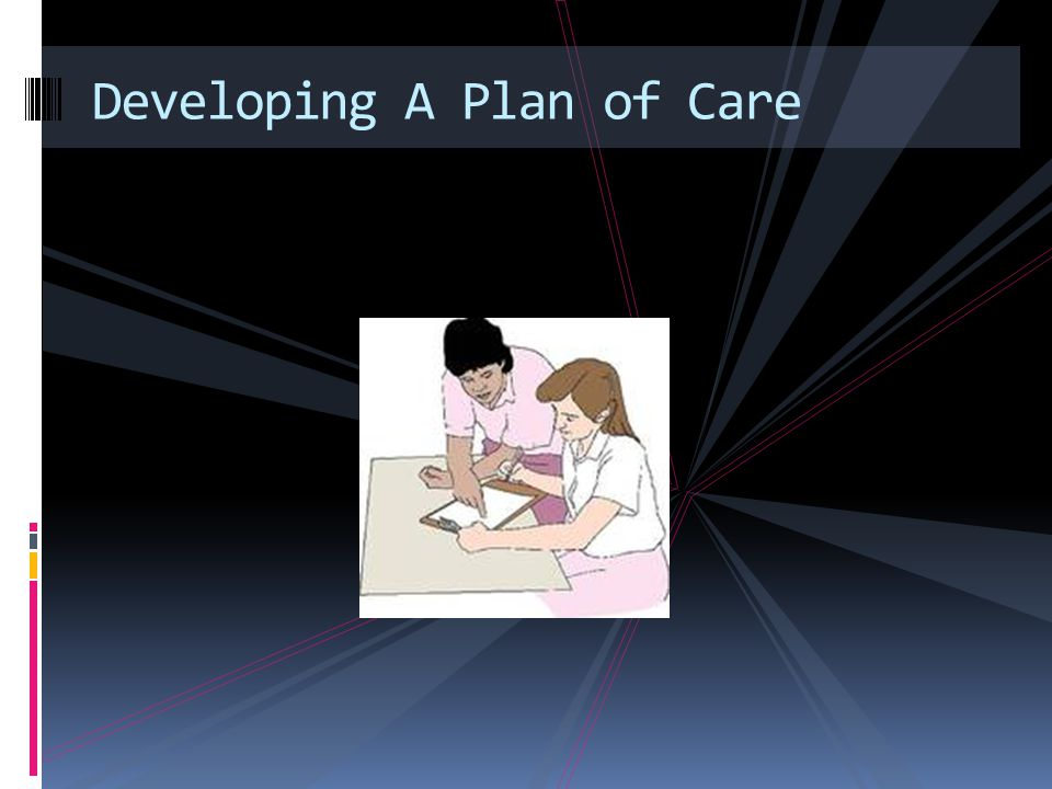 Developing A Plan of Care