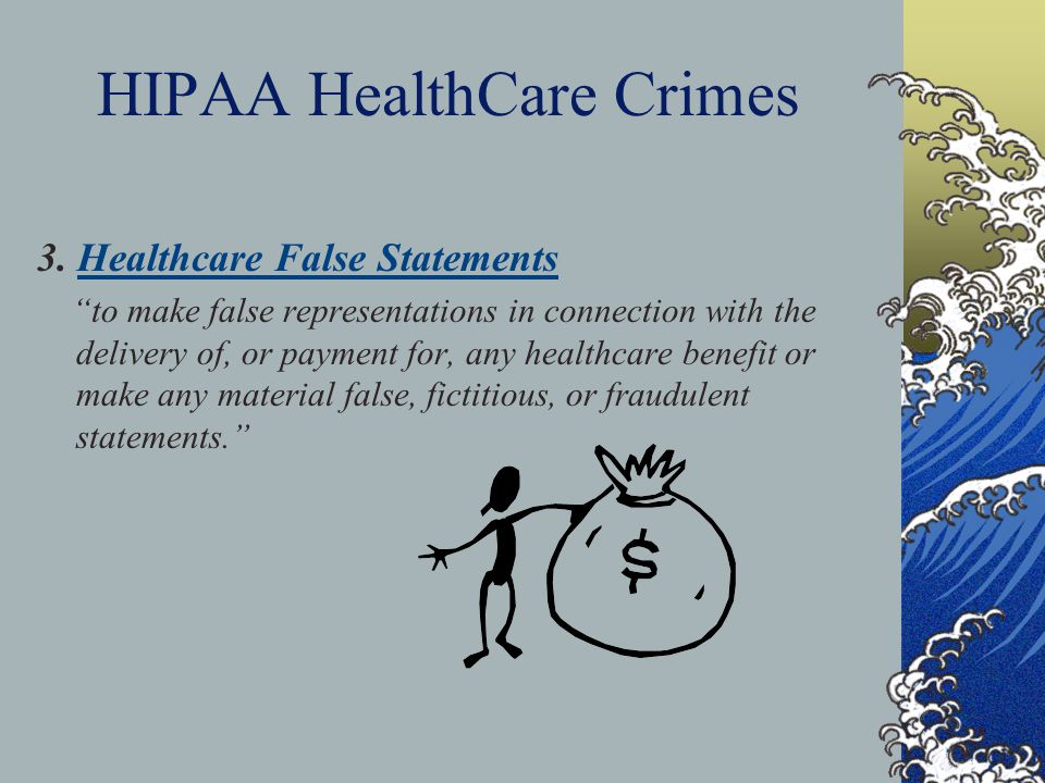HIPAA HealthCare Crimes 3.