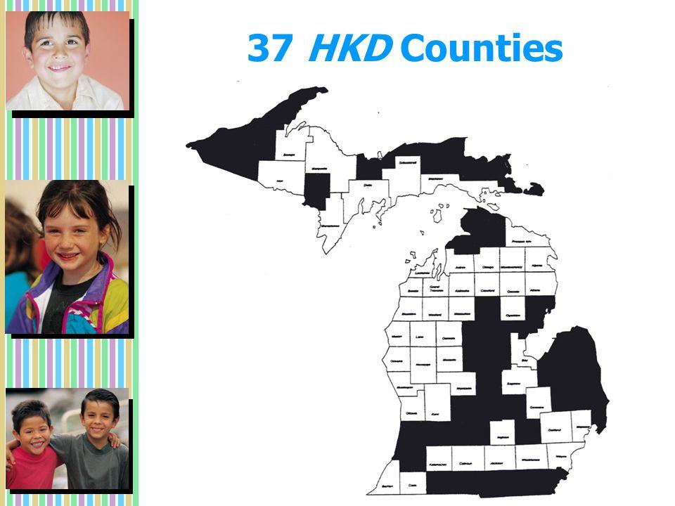 37 HKD Counties