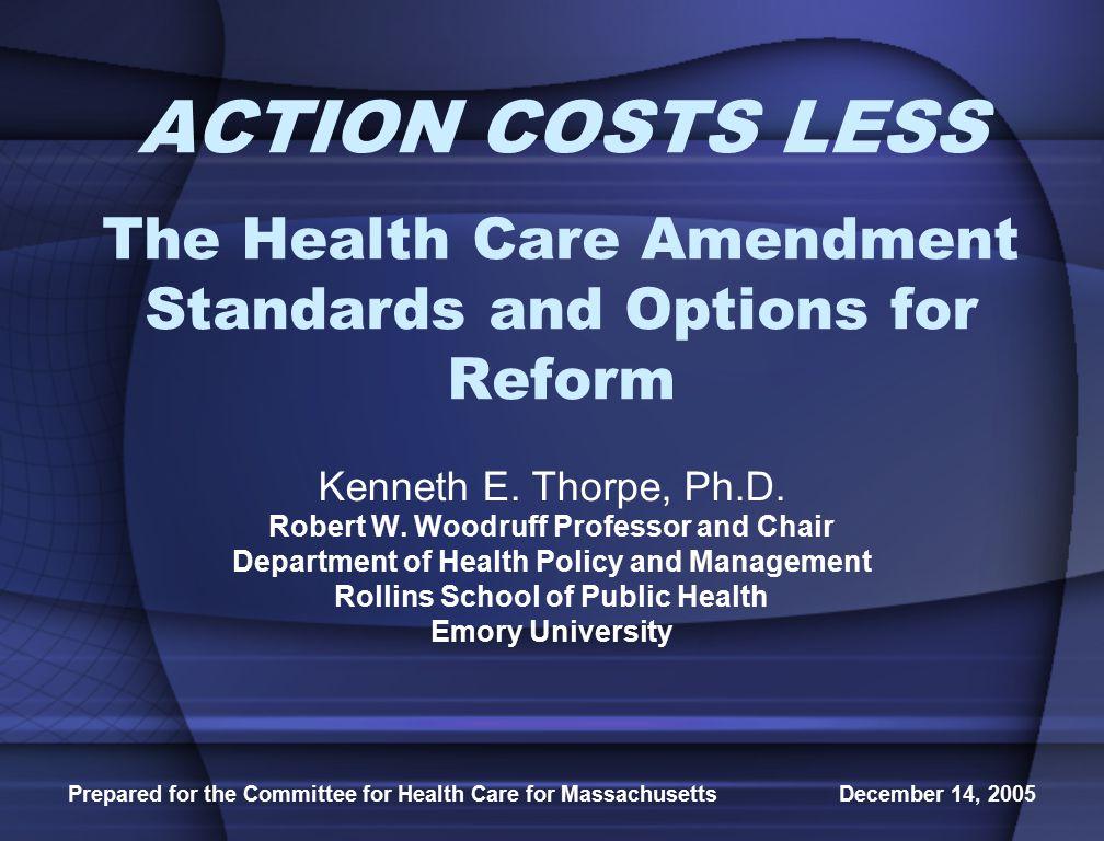 Prepared for the Committee for Health Care for Massachusetts December 14, 2005 Exhibit 4.
