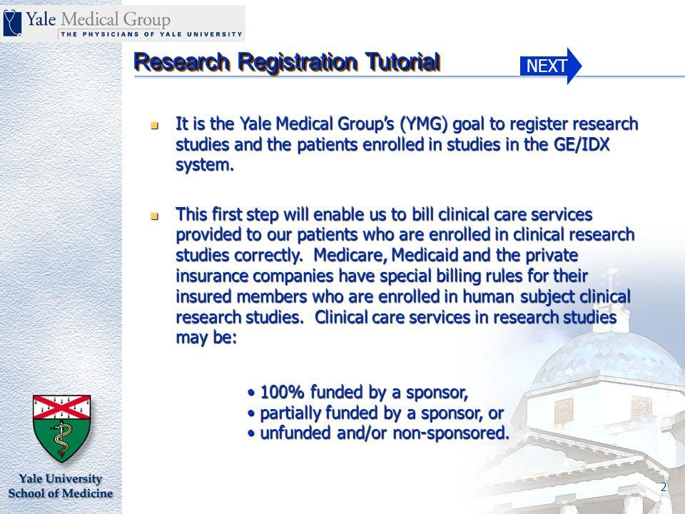 NEXT Research Registration Tutorial 23