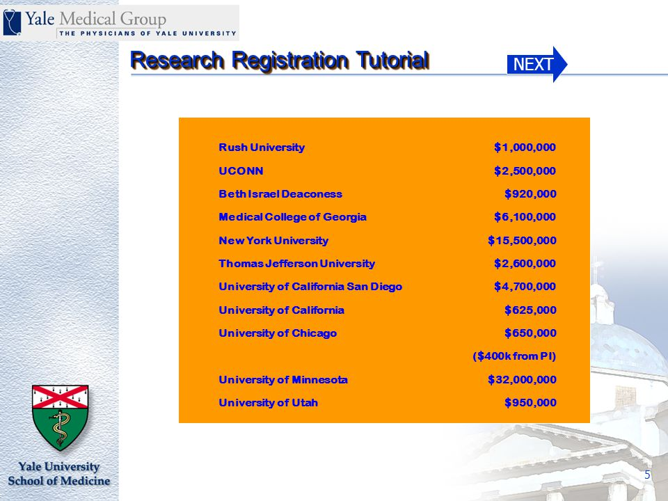 NEXT Research Registration Tutorial 26 Request to Create a New Clinical Study in GE/IDX Form 11100.FM.A Section II of III Does this study require a PTAEO.