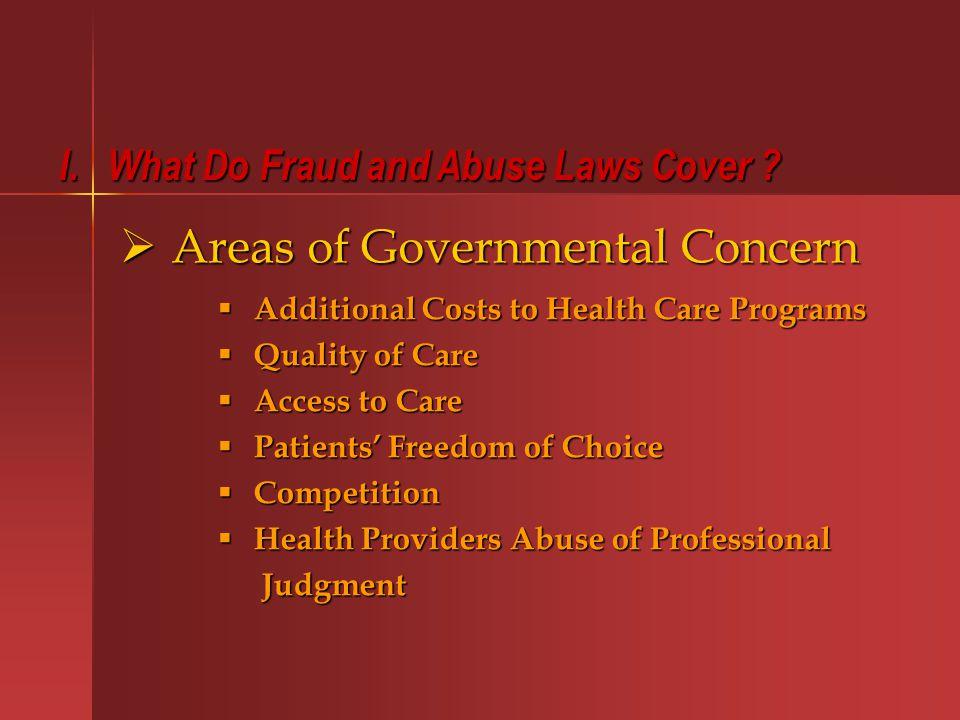 G.Criminal False Claims Statutes 1. Medicare/Medicaid-specific statutes (42 U.S.C.