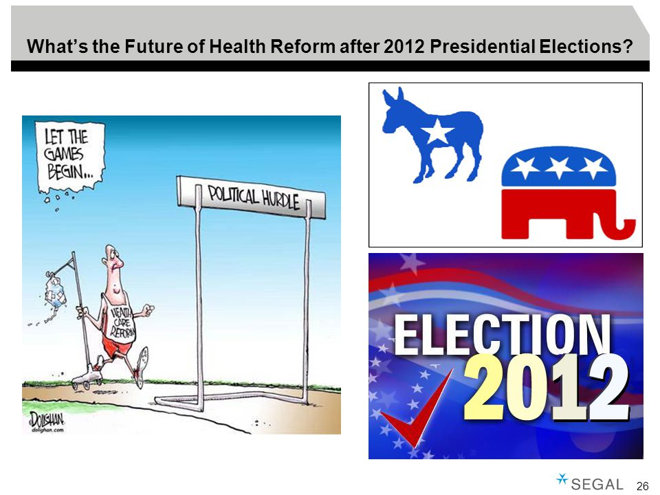 26 What's the Future of Health Reform after 2012 Presidential Elections