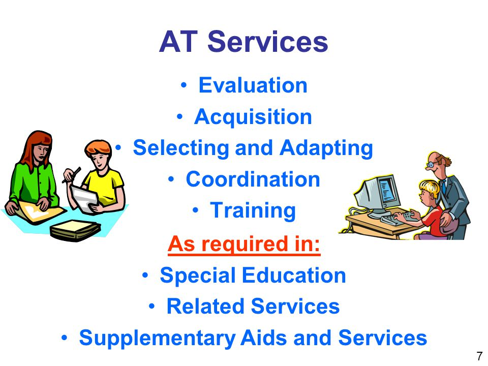 Assistive Technology is Required AT is required and the IEP team knows the nature and extent of the AT devices and services needed.