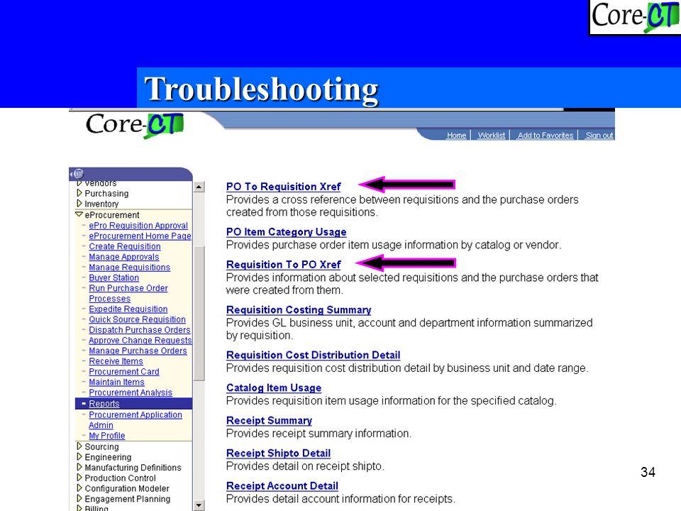 34 Troubleshooting