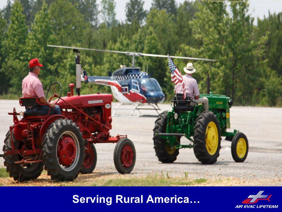 Serving Rural America…