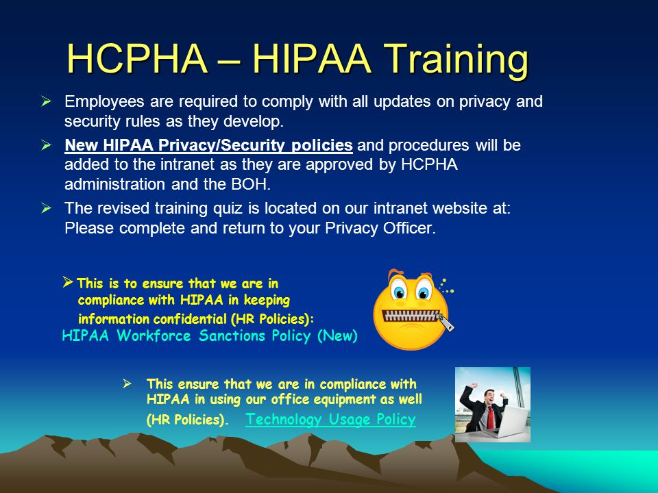 What's Been Added So Far at HCPHA??.