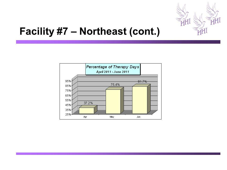 Facility #7 – Northeast (cont.)
