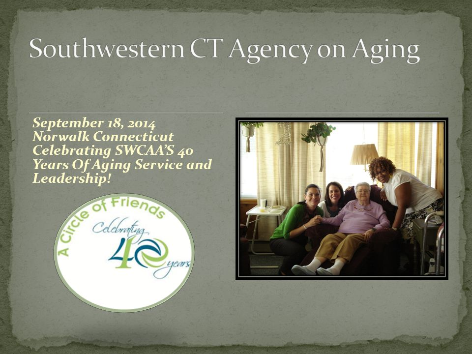 SWCAA holds a series of Town Meetings to identify and define the challenges facing older adults.